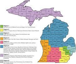 Allegan Michigan Map by Regional Map
