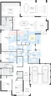 Ranch Plans by Floor Plan For A Small House 1150 Sf With 3 Bedrooms And 2