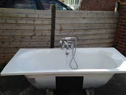 bette steel inset bath with brista chrome bath and shower mixer bette steel inset bath with brista chrome bath and shower mixer tap