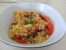 cuisiner les haricots rouges la cuisine en de maryline boulgour aux haricots rouges et