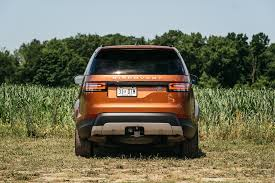 An Orange 2017 Land Rover Discovery Joins The Four Seasons Fleet