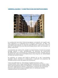 taller desalojo de estructuras y edificaciones generalidades y construccion de edificaciones docx