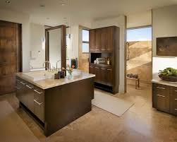 the inspiration for this bathroom is spanish mission style the