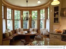 Kitchen And Breakfast Room Design Ideas Bay Window Breakfast Nook Kitchen Table Bay Window Nook Seat