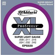 light electric guitar strings bajaao com buy d addario eps520 prosteels super light electric
