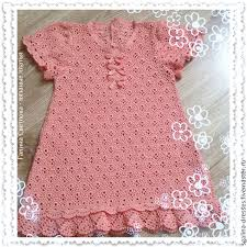 baby girl crochet knitted baby dress for baby girl crochet pink openwork shop