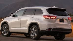 colors for toyota highlander 2018 toyota highlander colors release date redesign price
