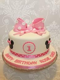minnie mouse 1st birthday cake children s cakes gallery 2 queenofcakes