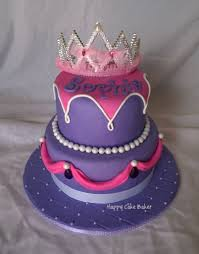 purple princess u2013 happy cake baker