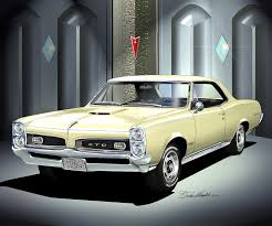 Pontiac Gto Pictures 1966 1967 Ponitac Gto Fine Art Prints And Posters By Danny Whitfield
