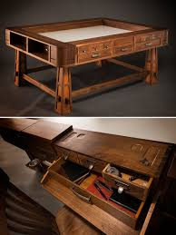 The Perfect Gaming Table Geek Chic Know U0027s What They Are Doing