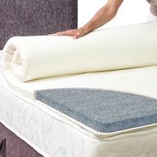 Bamboo Memory Foam Mattress Topper Memory Foam Mattress Toppers King Size Socialmediaworks Co