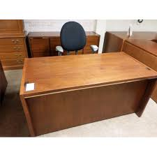 Used Office Desk Kimball Desk Credenza Suite Includes Desk Is 30 W X 65 L