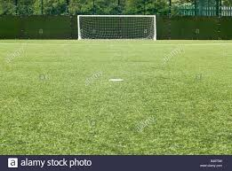 astroturf penalty spot astro turf football pitch stock photo royalty free