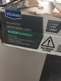 wickes selwood weathered grey tiles 6 in redbridge london gumtree