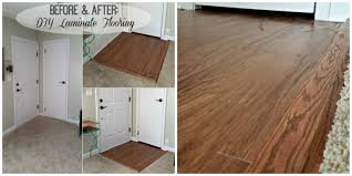 Laminate Flooring Before And After Install Laminate Flooring Part 2 The Finishing Touches Eieihome