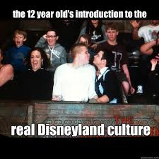 Disneyland Memes - the 12 year old s introduction to the real disneyland culture gays