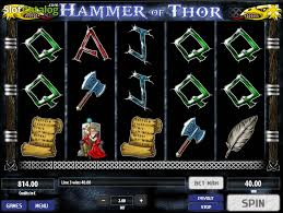 review of hammer of thor video slot from tom horn gaming slotcatalog