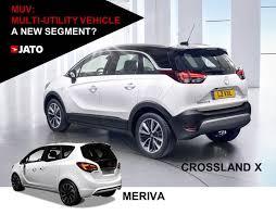 mpv car 2017 new opel crossland x a mpv a suv a mix jato