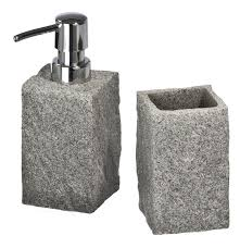 accessoires badezimmer wenko bad accessoires set granit 2 teilig karstadt shop