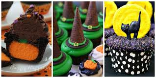 halloween cupcake ideas image gallery of cute easy halloween cupcake ideas