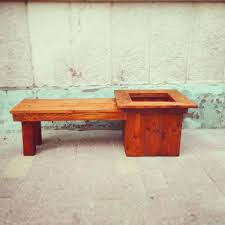 wood planter bench myoutdoorplans free woodworking plans and