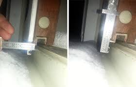 Patio Door Seal Sliding Patio Door Missing Seal Swisco