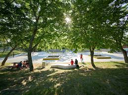 bureau des sports lyon 2 sport recreation landscape architecture works landezine