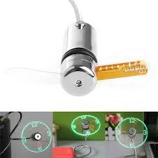gadgets de bureau durable réglable de refroidissement usb gadget mini led