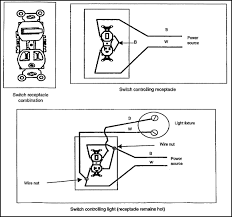 wiring a light switch and outlet together diagram installing electrical convenience devices