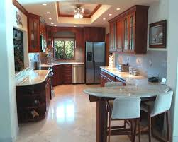 ideas for remodeling a kitchen kitchen awesome brown rectangle modern marble kitchen remodel