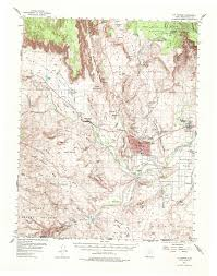 Oregon Topographic Map by Washington County Maps And Charts