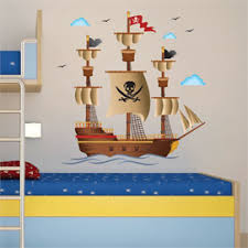 Pirate Room Decor Pirate Themed Decor Boys Pirate Bedroom Pirate Ship Bedding