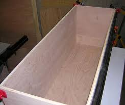 Free Plans To Build A Toy Box by Toy Box Carcass The Tundra Man Workshop