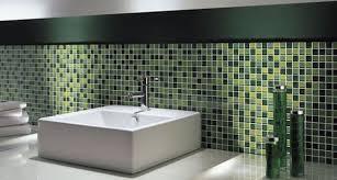 bagno mosaico mosaico adesivo fai da te idee green