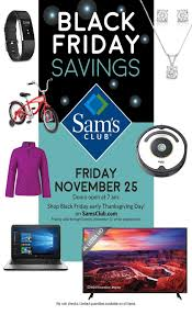 sam s club black friday 2016 ad leaked here are the best