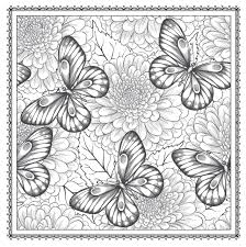 amazon com blossom magic beautiful floral patterns coloring book