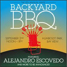 alejandro escovedo to headline 8th annual wmse backyard bbq