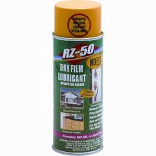 Garage Door Spray Lubricant by Prime Line 9 Oz Dry Film Spray Lubricant Rz 50 4a24 The Home Depot