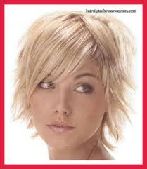 short hairstyles for round faces double chin and fine thin hair