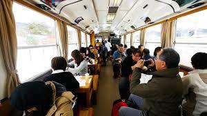 incredible japanese train tour restaurant akita japan travel