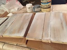 How To Color Wash Wood - how to white wash wood pallets 1 cover in miniwax wood stain in