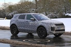 range rover small spyshots 2019 range rover evoque has production all led