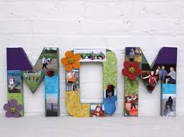 gifts for mothers s day handmade gifts letter collage