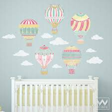 Removable Wall Decals For Nursery Air Balloons Removable Wall Decals Removable Wall Decals