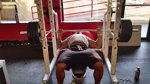Starting Weight Bench Press Dead Stop Bench Press Youtube