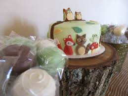 woodland animals baby shower cake cakes made by me pinterest