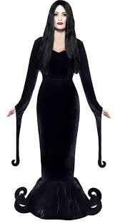 Morticia Addams Dress Addams Family Costume Ideas Party Delights Blog