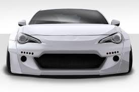 frs car black 13 15 scion frs gt500 v2 duraflex front body kit bumper 112640