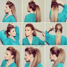 mature pony tail hairstyles glamorous images of ponytail hairstyles